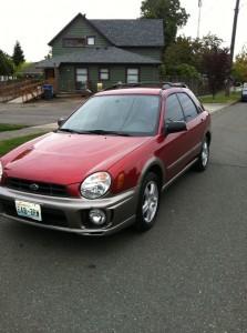 Subaru Impreza Outback Sport in Seattle For Sale