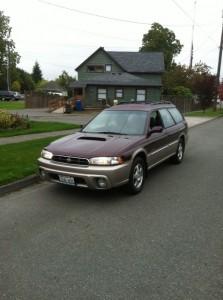 1999 Subaru Legacy Outback Limited