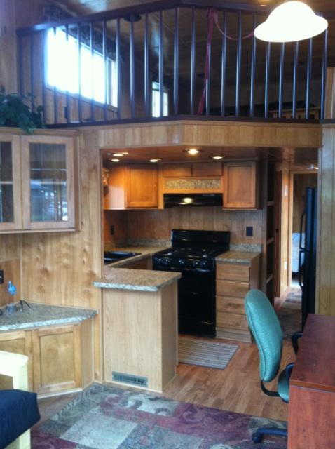 2009 Laurel Creek Cabin Park Model Interior