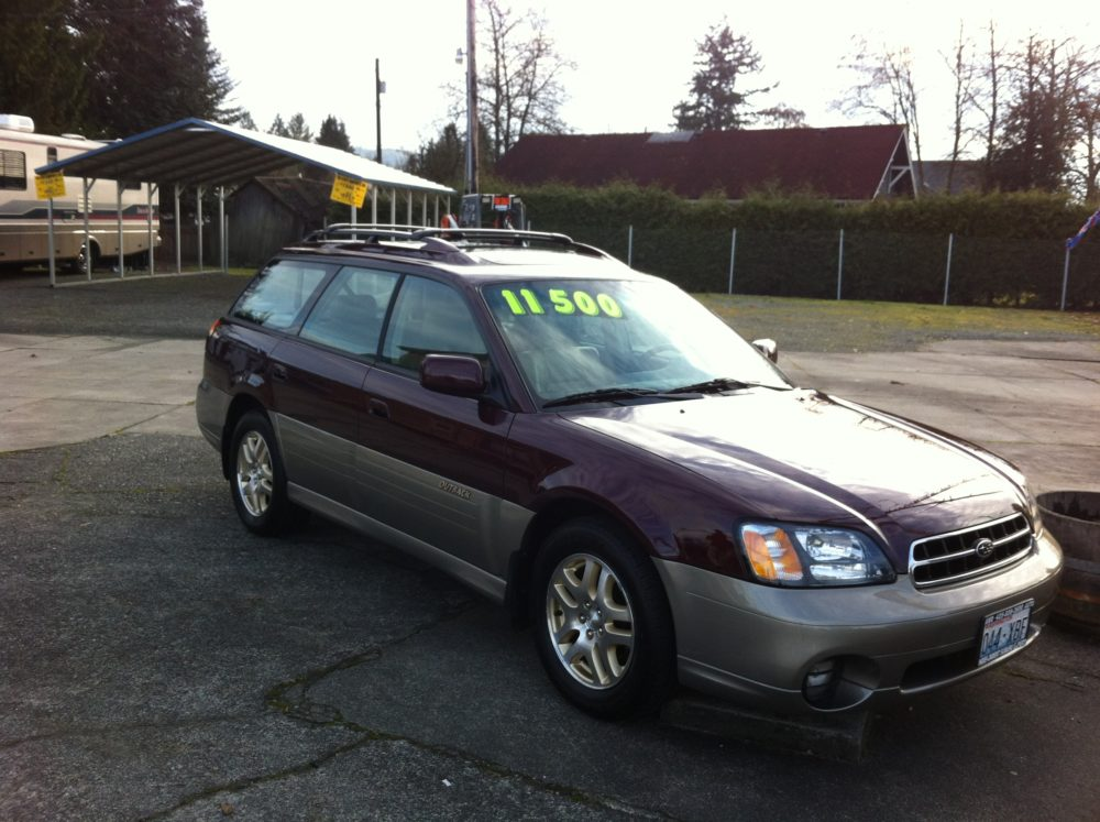 2000 subaru outback limited for sale