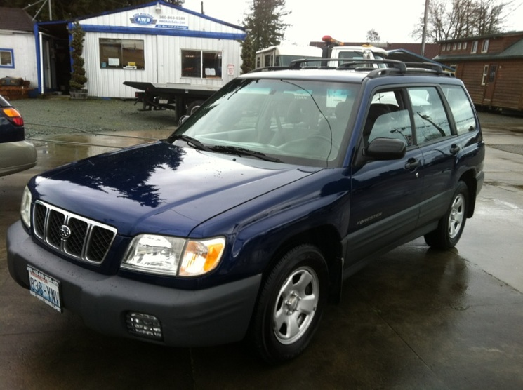 2001 subaru forester l for sale awd auto sales. Black Bedroom Furniture Sets. Home Design Ideas