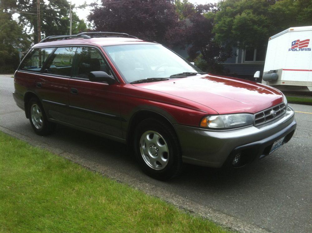 1996 Subaru Legacy Outback Red