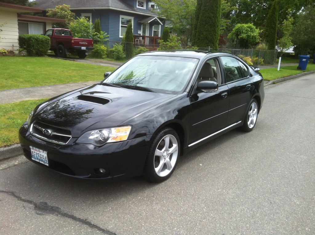 2005 subaru legacy gt in black awd auto sales. Black Bedroom Furniture Sets. Home Design Ideas