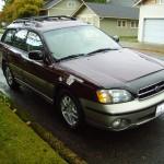 2001 Subaru Outback Wagon 5 speed