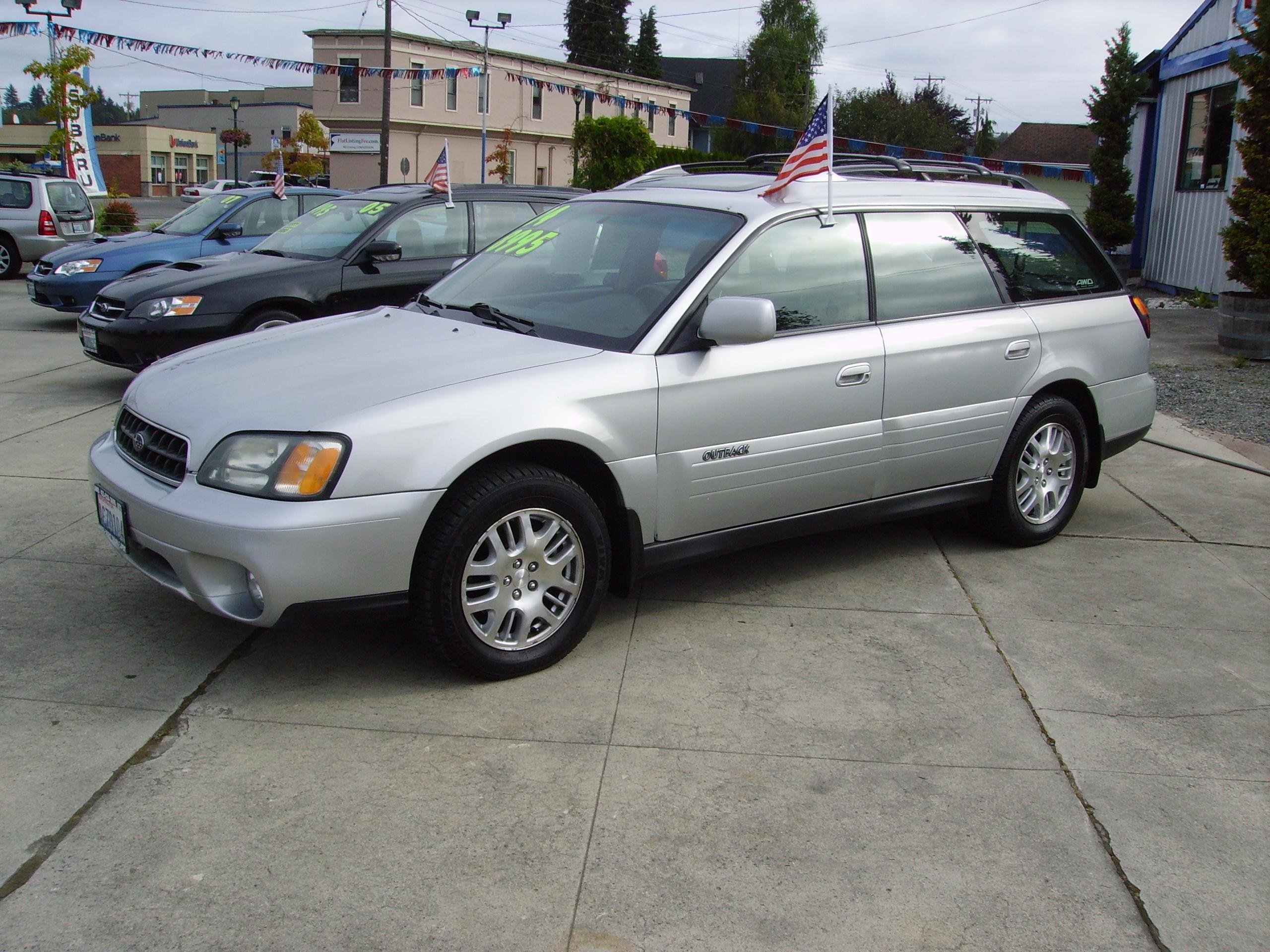 2004 subaru outback limited » awd auto s