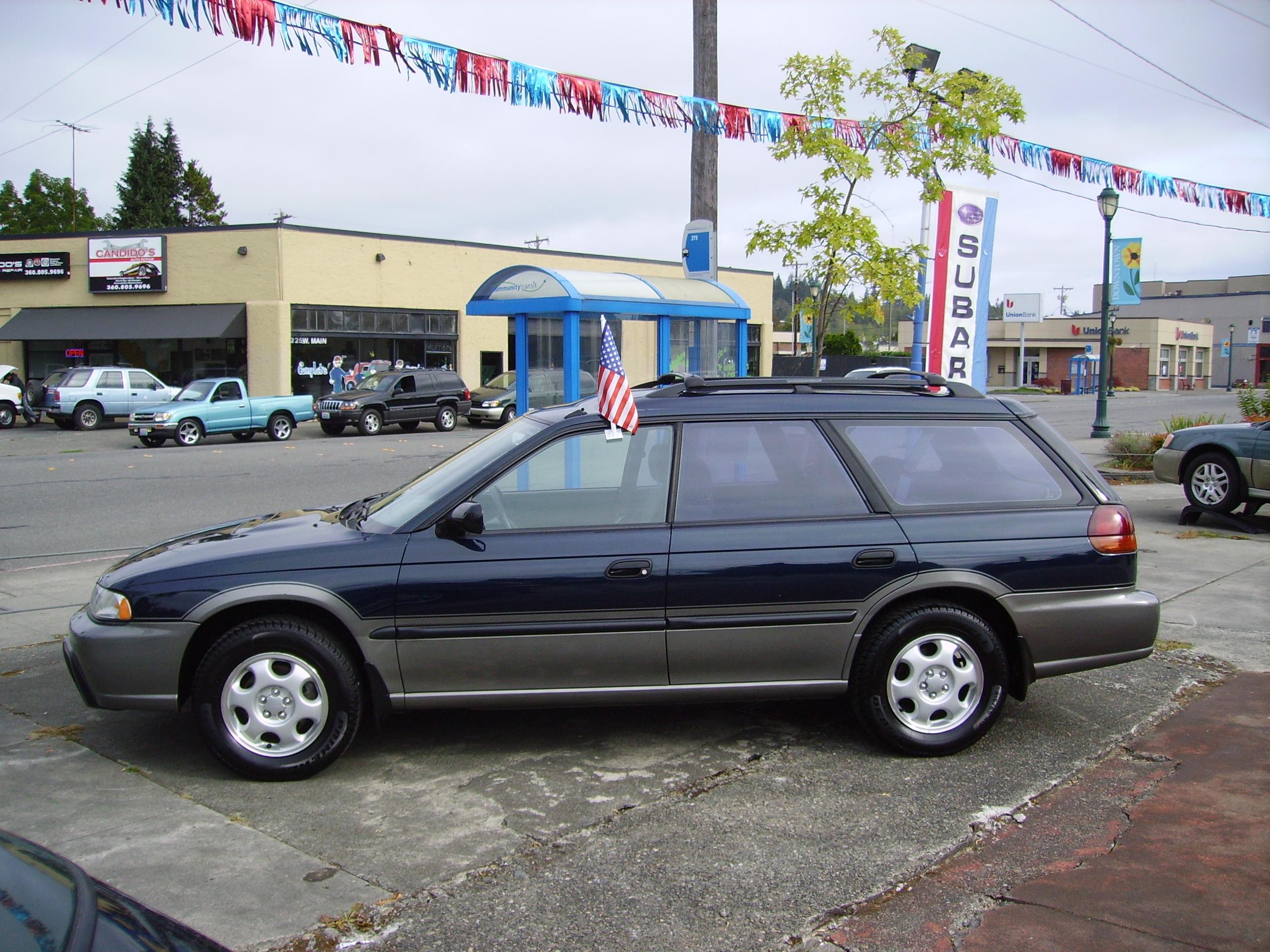 1997 subaru legacy outback » awd auto s