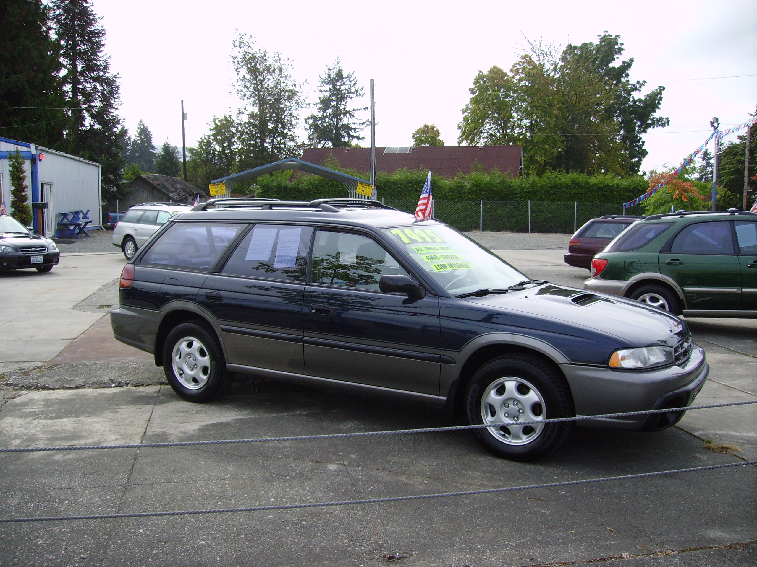 1997 Subaru Legacy Outback Awd Auto Sales