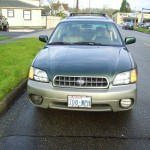 Subaru Outback Limited in Green