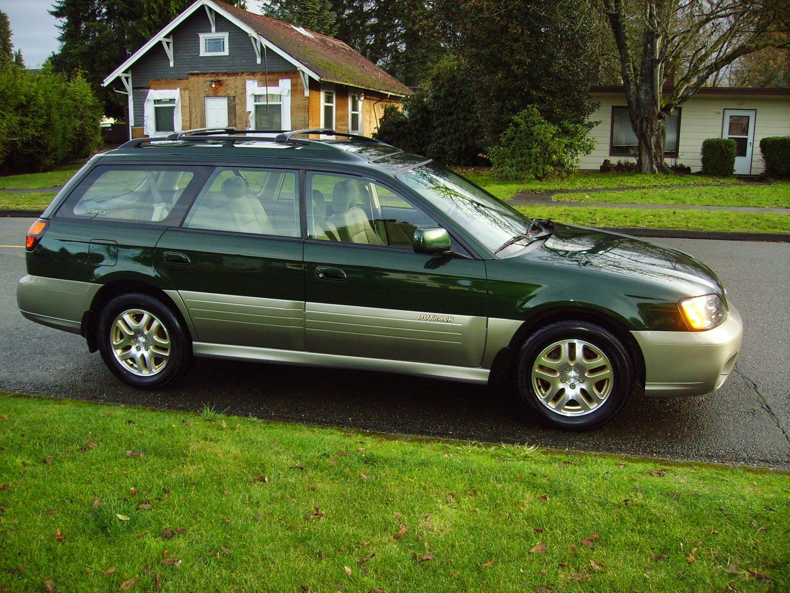 2003 subaru outback limited for sale awd auto sales subaru outback limited in green freerunsca Images