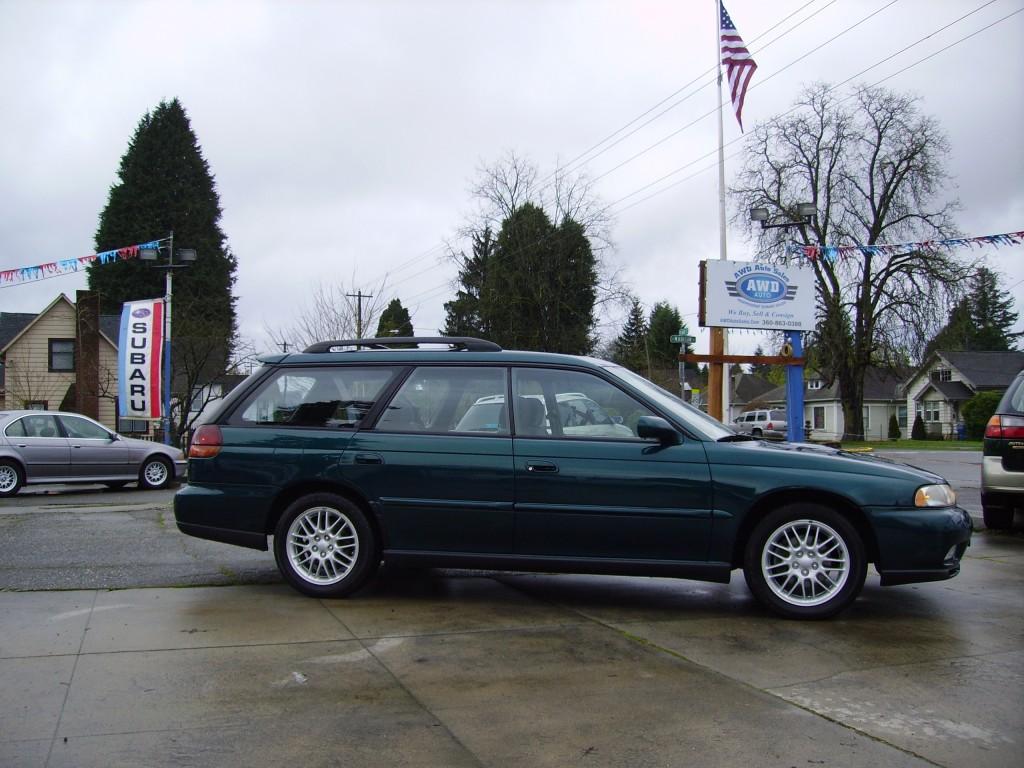 1997 subaru legacy gt in green awd auto sales. Black Bedroom Furniture Sets. Home Design Ideas