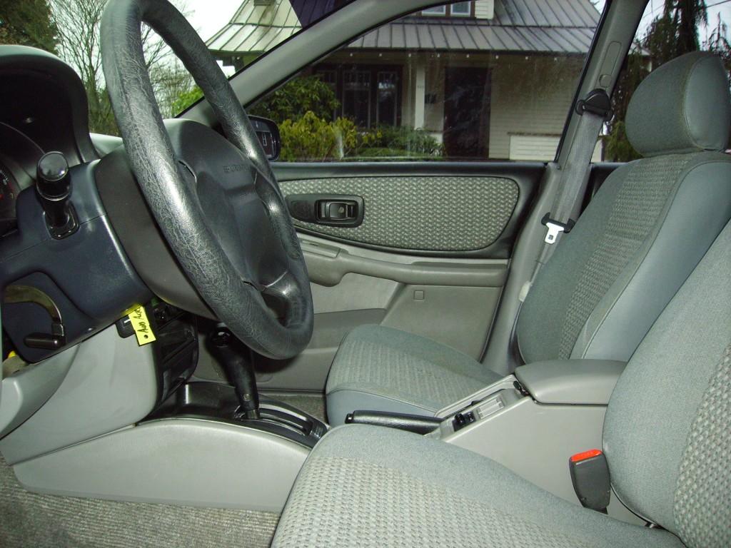 1998 Subaru Impreza L Interior