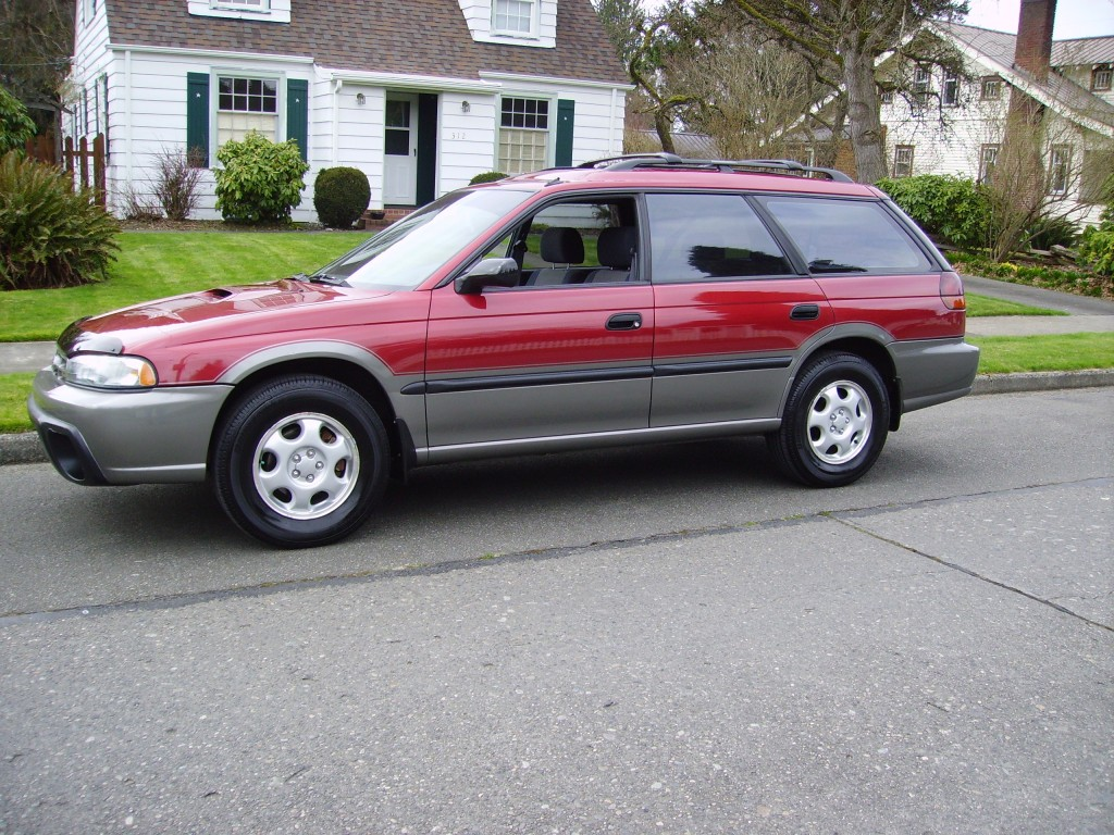 1997 Subaru Outback in Red – AWD Auto Sales