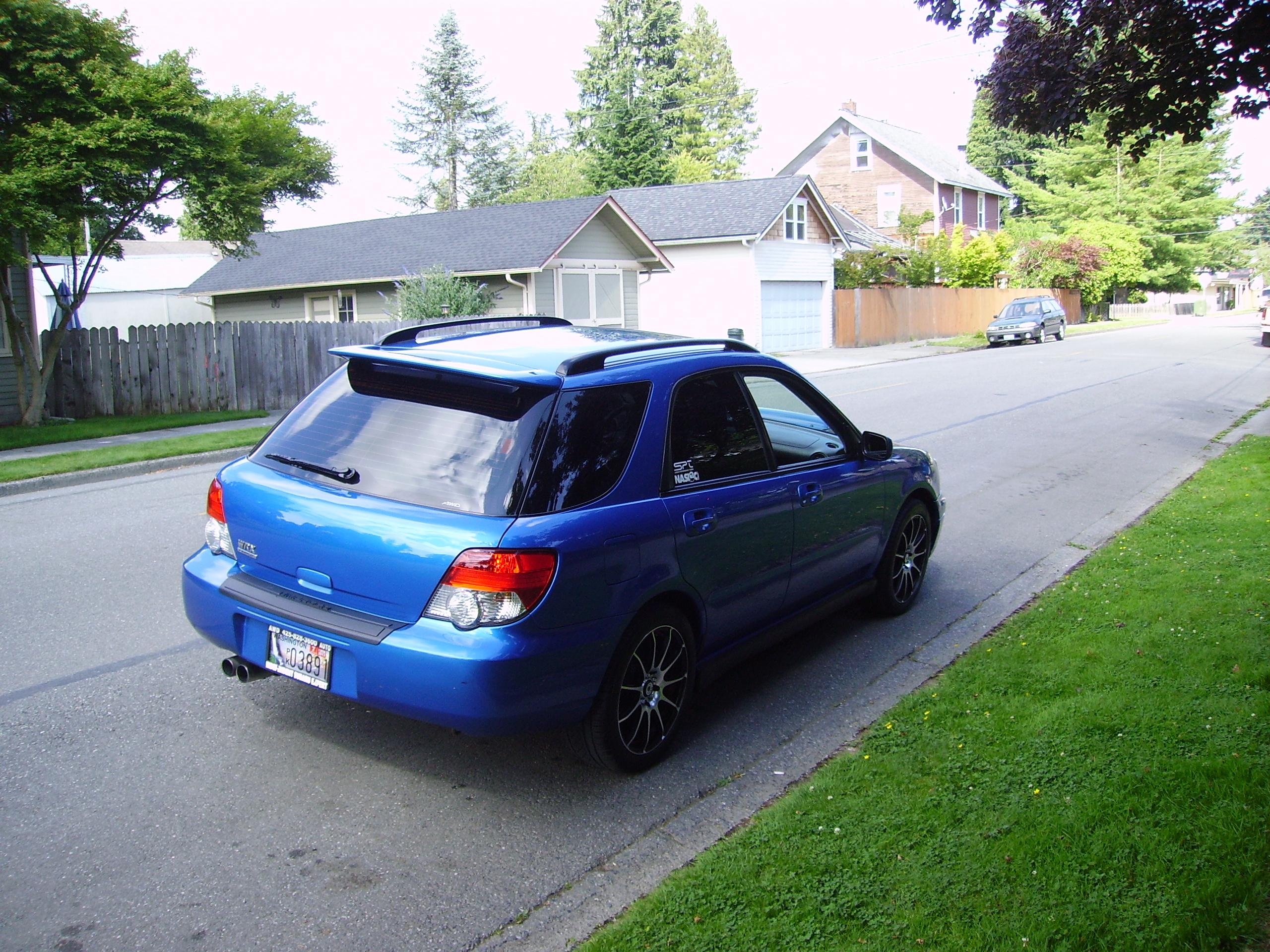 2004 Subaru Impreza Wrx Wagon Awd Auto Sales