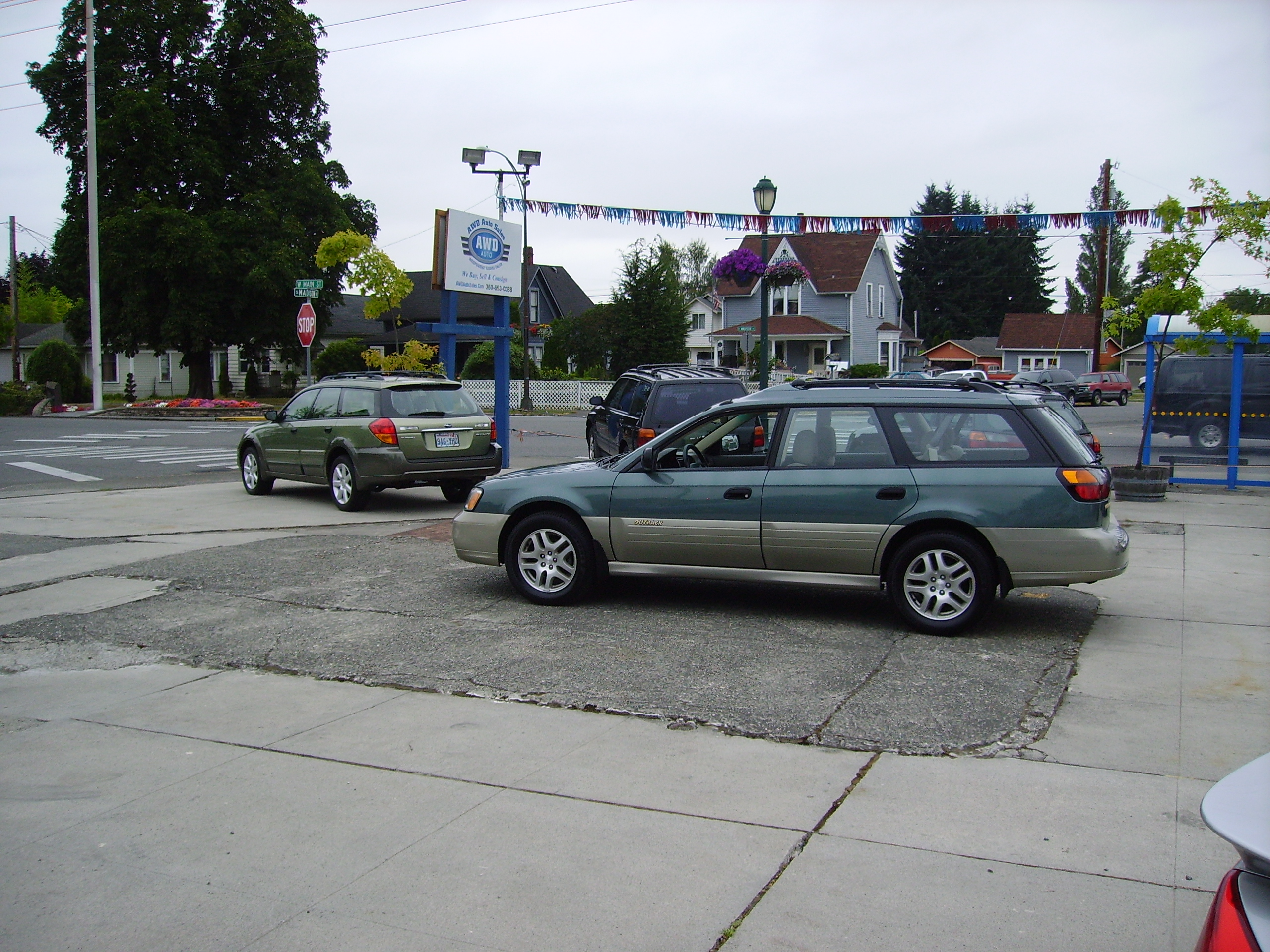 Awd Auto Sales Page 19 Independent Subaru 2000 Legacy Outback