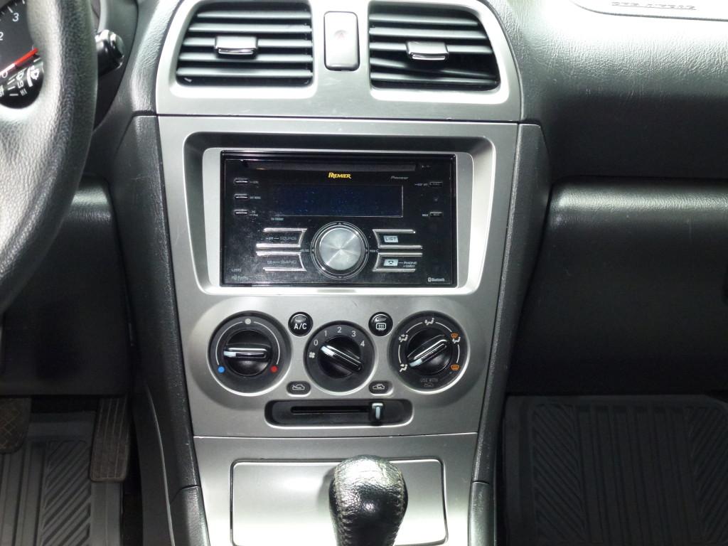 2006 Subaru Impreza Black