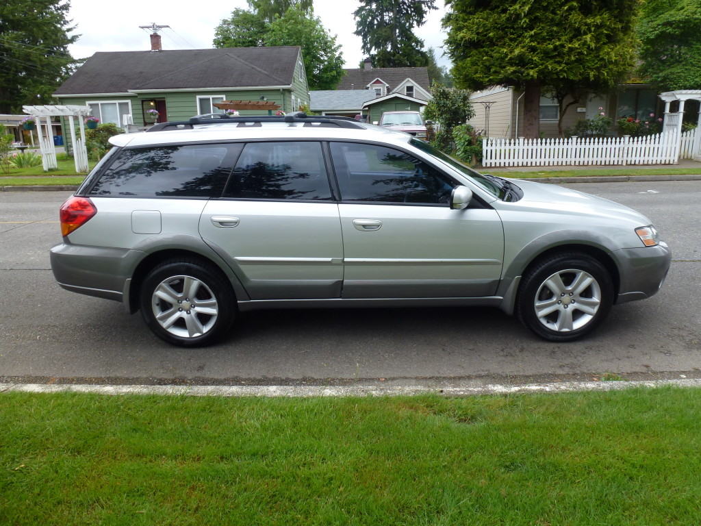 2005 Silver Outback XT