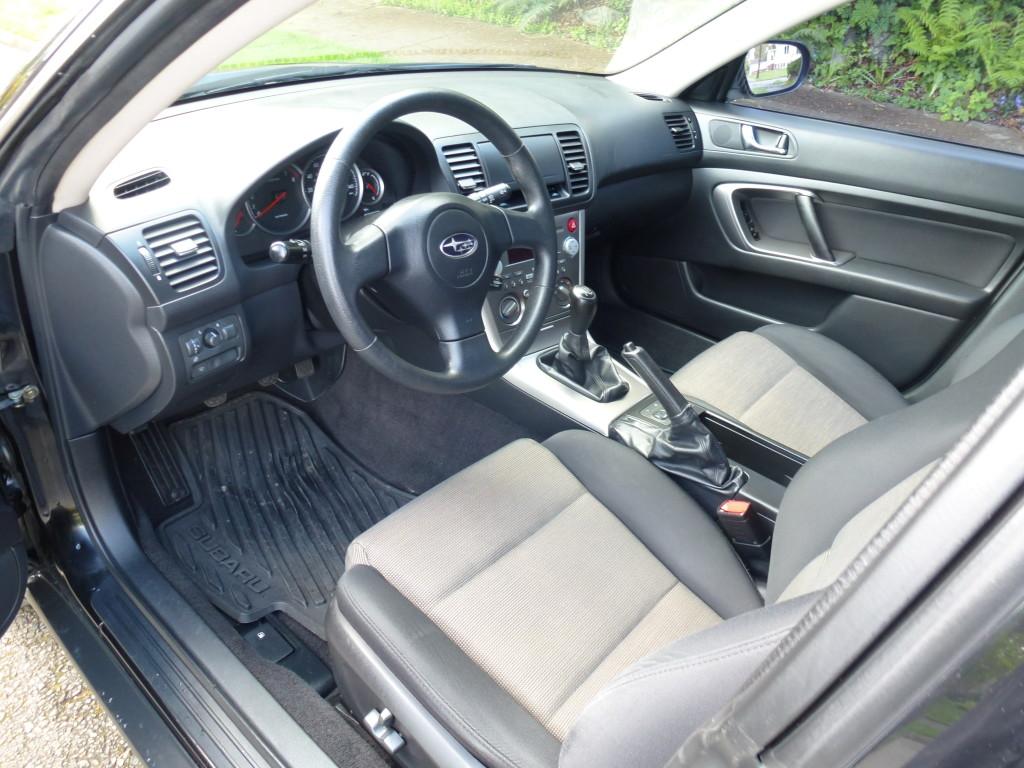 2007 Subaru Outback 5spd