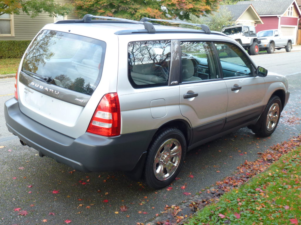 2004 subaru forester for sale awd auto sales for Subaru forester paint job cost