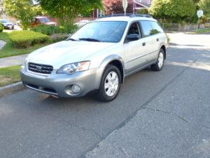2005 Subaru Outback Silver