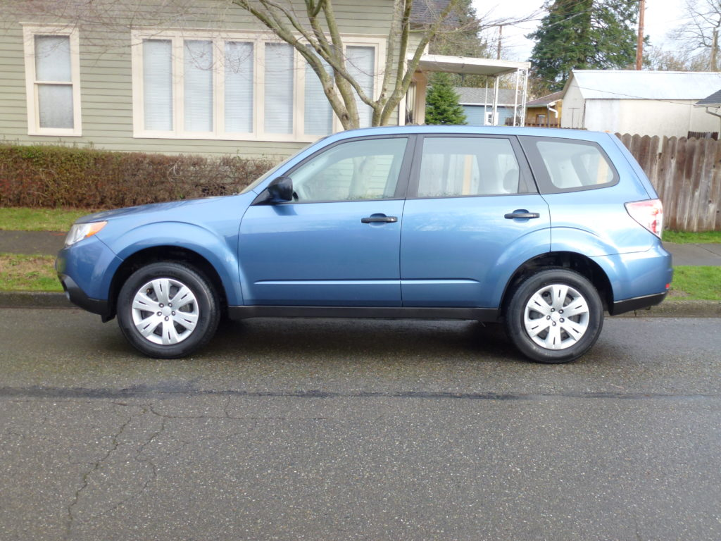 2009 Subaru Forester Blue