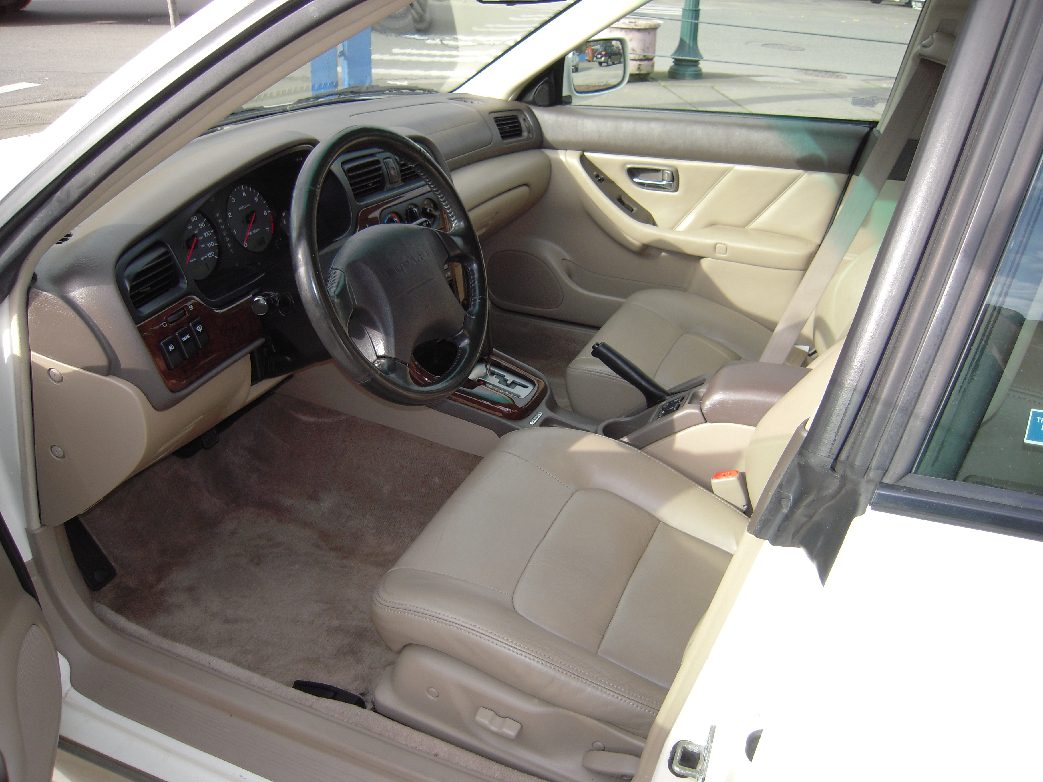 2000 Subaru Outback Limited For Sale Awd Auto Sales Interior